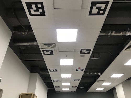 Ceiling markers